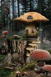 神仙的房子(蘑菇) 图库摄影