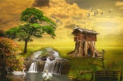 神仙的房子 免版税图库摄影