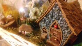 神仙的村庄手工制造由我自己 免版税库存图片