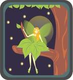 神仙的森林 免版税库存照片