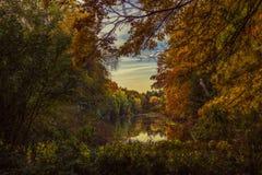 神仙的池塘 免版税库存图片