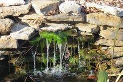 神仙的瀑布 库存照片