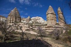 神仙的烟囱岩层 免版税库存照片