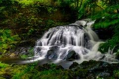 神仙的秋天, Snowdonia 免版税库存图片