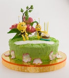 神仙的蛋糕 库存照片