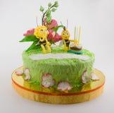 神仙的蛋糕 库存图片