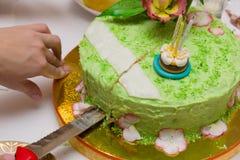 神仙的蛋糕 免版税库存图片