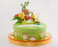 神仙的蛋糕 免版税库存照片