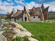 神仙的谷的黏土Castle库存照片