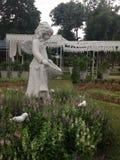 神仙的雕象 免版税图库摄影