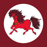 神仙的马 免版税库存图片