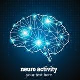 神经的活动1 皇族释放例证