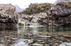 神仙的水池,斯凯岛小岛  免版税库存照片