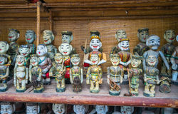 神仙礼物在文学寺庙的待售  库存图片