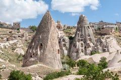 神仙cappadocia的烟囱 免版税库存照片