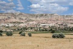 神仙cappadocia的烟囱 库存照片