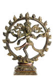 神shiva雕象 库存照片
