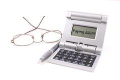 票据支付 免版税库存照片