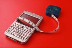 票据电话保存您 库存图片