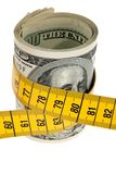 票据美元象征性经济的程序包 库存图片