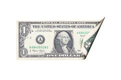 票据美元 库存照片