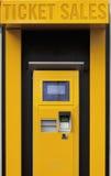 票机器 免版税库存图片