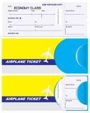 票的信封在梵蒂冈飞机 图库摄影