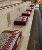 祷告坐垫 库存照片