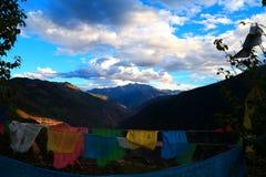 祷告藏语 免版税库存照片