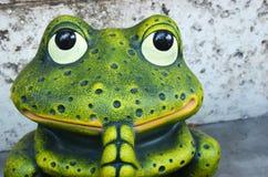 祷告青蛙 免版税库存图片