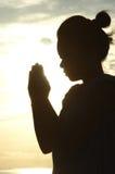 祷告 库存图片