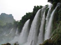 禁令gioc越南瀑布 库存照片