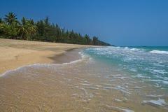 禁令Krut海滩泰国 库存照片