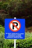 禁止停车符号 免版税库存照片
