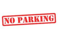 禁止停车 向量例证