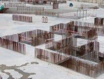 禁止增强钢 免版税库存照片