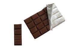禁止巧克力浅深度的域 免版税库存图片