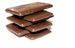 禁止巧克力浅深度的域 免版税图库摄影