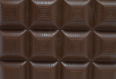 禁止巧克力纹理 免版税库存照片
