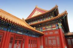 禁止的北京市 免版税库存图片