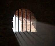 禁止的城堡wertheim视窗 免版税图库摄影