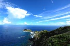 禁止的海岛 库存图片
