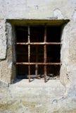 禁止的窗口 免版税图库摄影