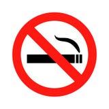 禁烟例证 免版税库存图片