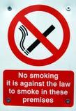 禁烟标志 免版税库存照片