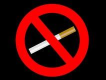 禁烟 免版税库存图片