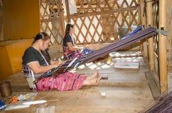 禁令NAI SOI,湄宏顺府,泰国- 12月14 :Kare 库存图片