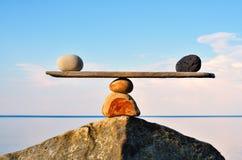 禅宗平衡 库存图片