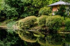 禅宗庭院风景  库存图片