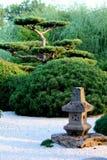 禅宗庭院 库存图片